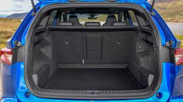 Skoda Enyaq iV SUV - boot seats up
