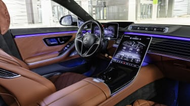 2020 Mercedes S-Class - interior side view