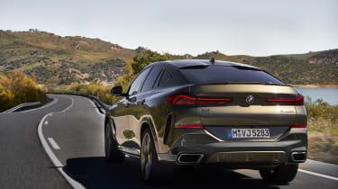 2019 BMW X6 - rear dynamic shot