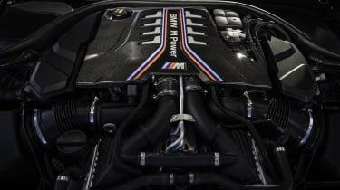 2021 BMW M5 CS - engine bay