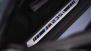 BMW M235i Gran Coupe saloon door sill