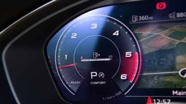 Audi S5 Sportback rev gauge