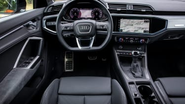 Audi Q3 Sportback SUV interior