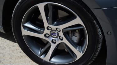 A choice of alloy wheels add drama to the exterior