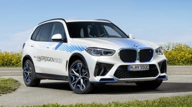 BMW iX5 Hydrogen - front 3/4 static