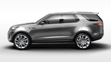 Land Rover Discovery SUV 2015 side