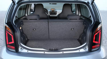 2019 Volkswagen e-up! hatchback - boot space