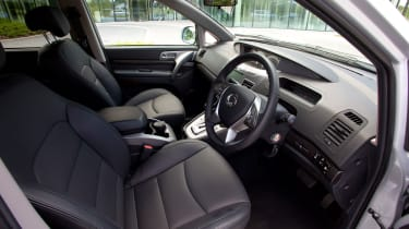 2018 SsangYong Turismo front seats