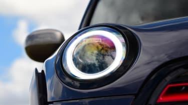 MINI JCW GP - headlight close