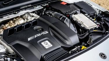Mercedes-AMG CLA 45 saloon engine
