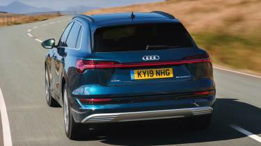 Audi e-tron SUV boot tracking