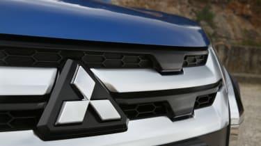 Mitsubishi ASX SUV front badge