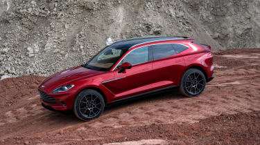 Aston Martin DBX - side view