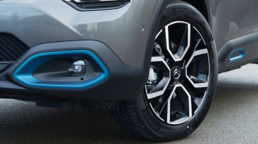Citroen e-C4 hatchback alloy wheels