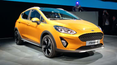 Fiesta range has also been expanded with a new semi-crossover SUV-like Fiesta Active