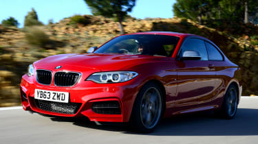 Power spans from 134bhp right up to 335bhp in the BMW 240i