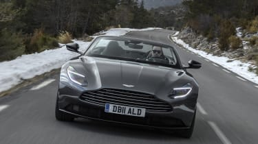 'Volante' is the Aston Martin word for convertible, and the DB11 Volante is the latest in a long line
