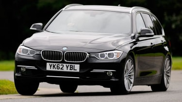 BMW 330d Touring - front