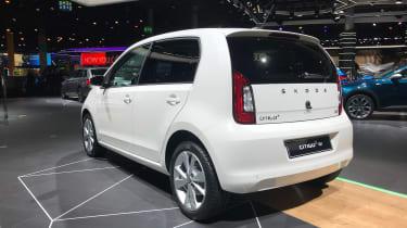 Skoda Citigo e iV - Rear 3/4 at Frankfurt 2019