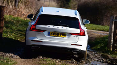 Volvo V60 Cross Country - rear off-roading