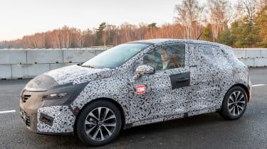 Renault Clio prototype review static
