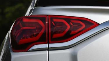 SsangYong Korando SUV rear lights