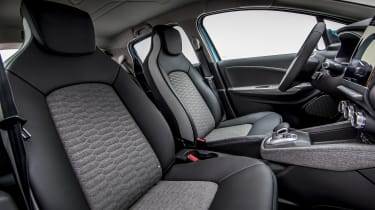 New Renault ZOE - front seats