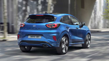 2020 Ford Puma - rear 3/4 driving view