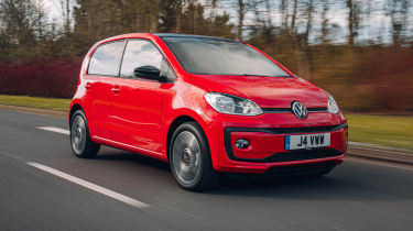 Volkswagen up! hatchback driving