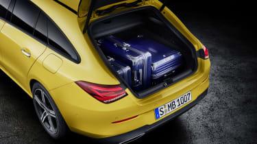 2019 Mercedes CLA Shooting Brake - boot space