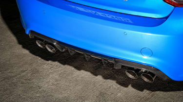 BMW M2 CS exhausts