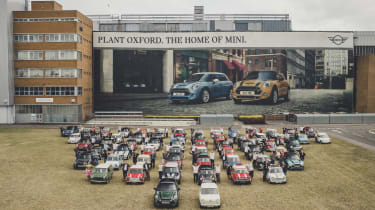 MINI 60th anniversary plant oxford outside