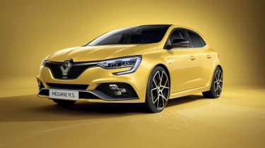 2020 Renault Megane RS - front 3/4 view