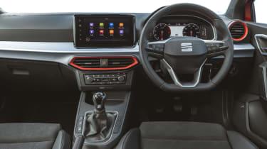 SEAT Ibiza hatchback interior