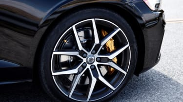 Volvo S60 Polestar Engineered - Front alloy wheel and brakes close up
