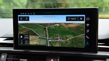 Audi A5 Coupe MMI infotainment