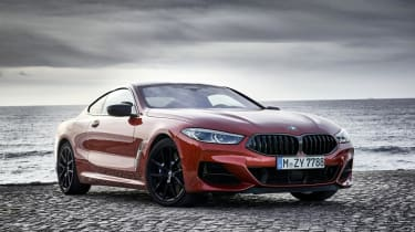 BMW M850i front 3/4 static