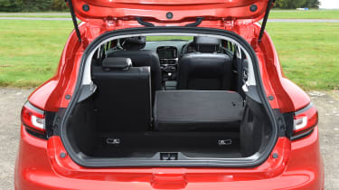 The Clio has a pretty large boot - measuring 300 litres - which is larger than several of its key rivals