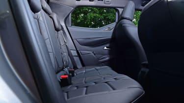 DS 3 Crossback E-Tense SUV rear seats