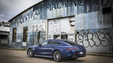 Mercedes-AMG GT 63 right hand static shot