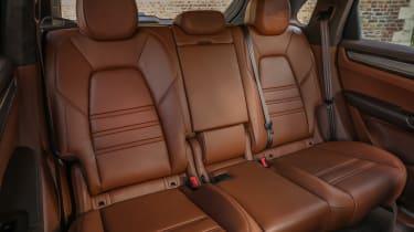 Porsche Cayenne Turbo S E-Hybrid rear seats