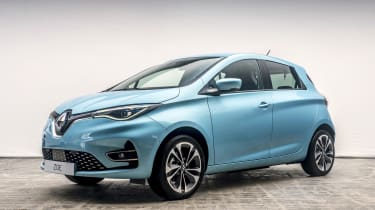 New Renault ZOE - front 3/4 view static