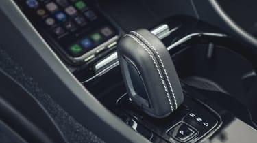 Volvo XC40 Recharge P8 SUV gear selector