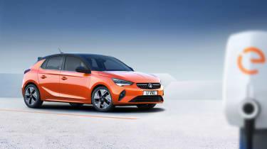 2020 Vauxhall Corsa-e - at a charging station