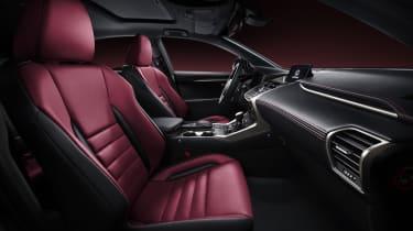 Lexus LF-NX SUV 2014 interior