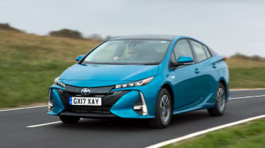 The Toyota Prius Plug-in has a much larger battery pack than the standard Prius Hybrid