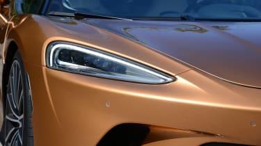 McLaren GT headlight