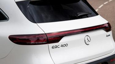 Mercedes EQC SUV tailgate