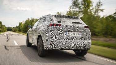 2020 Peugeot 2008 prototype - rear 3/4 dynamic