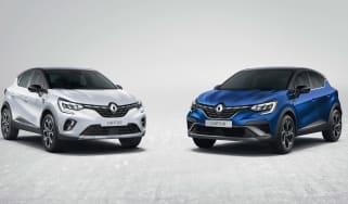 2021 Renault Captur E-Tech Hybrid SUV range